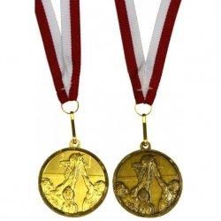 Medal Promo 40 Mm Koszykówka Italia Złoty