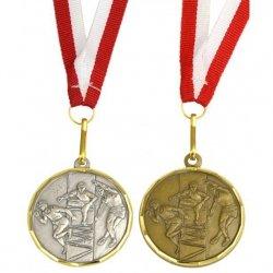 Medal Promo 40Mm Lekkoatletyka Srebrny 268636
