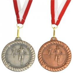 Medal Promo 50Mm Biegi Srebrny 268643