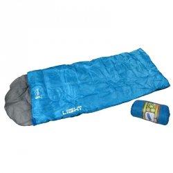 Śpiwór Light Błękitny 170+30X70 Cm Royokamp