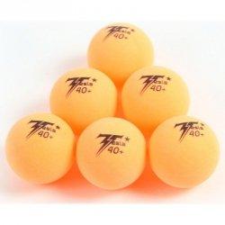 Piłeczki Do Tenisa Stołowego Tesla Pomarańczowe 6Szt.