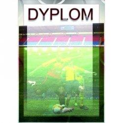 Dyplom Papierowy - Piłka Nożna (25 Szt.)