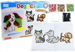 Zestaw Koralików do Tworzenia Mozaiki Pies i Kot