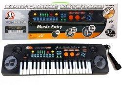 Keyboard Organy z Mikrofonem 37 Klawiszy USB