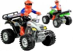 Quad Motor Czterokołowy Terenowy + Kierowca