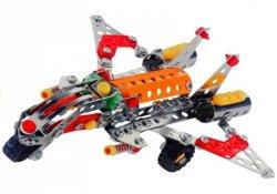 Klocki Konstrukcyjne Myśliwiec Samolot 199 Części