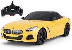 Auto R/C BMW Z4 Roadster Rastar 1:18 Żółte