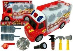 Auto Rozkładane Walizka Straż Pożarna Akcesoria