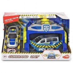 Dickie SOS - Policyjna jednostka dowodzenia + 2 Samochody Światło Dźwięk