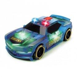 Dickie Racing - Pojazd Lightstreak Policja ze światłem i dźwiękiem
