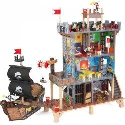 Kidkraft Drewniana Forteca Statek Piratów
