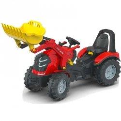 Rolly Toys Traktor na Pedały X-Track z Łyżką Ciche Koła PREMIUM 3-10 Lat