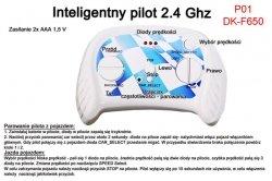 Pilot zdalnego sterowania w technologii 2.4 Ghz do pojazdów