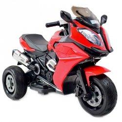 WIELKI  MOTOR ŚCIGACZ, MIĘKKIE KOŁA EVA, MIĘKKIE SIEDZENIE STRONG 2 EXCLUSIVE/NEL-1300