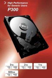 Toshiba P300 2TB 7200 RPM, 3.5 inch, HDD, 64 MB