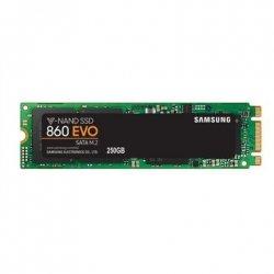 Samsung 860 EVO MZ-N6E250BW 250 GB, SSD form factor 2.5, SSD interface M.2, Write speed 520 MB/s, Read speed 550 MB/s