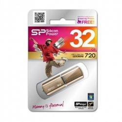 Silicon Power LuxMini 720 32 GB, USB 2.0, Bronze