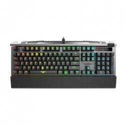 Gamdias HERMES P2 RGB, US, Wired, Gaming Mechanical Keyboard, Black/Grey