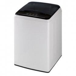 DAEWOO Washing machine WM-1710ELW Top loading, Washing capacity 6 kg, 700 RPM, A+, Depth 53.5 cm, Width 52.5 cm, White/ black, D