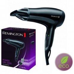 Remington Power Dry 2000 Hair dryer D3010 Ionic function, 2000 W, Black