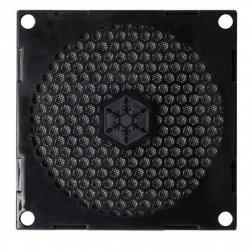 SilverStone Fan grille and filter kit SST-FF81B Black, 80 x 80 x 3.0 mm