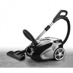 ETA Vacuum Cleaner ETA249290000 Bagged, Black/silver, 700 W, 4 L, A, A, D, A, 69 dB, HEPA filtration system, 230 V