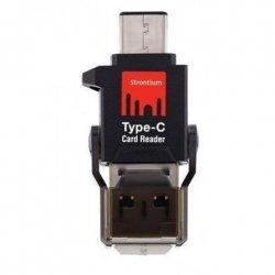 Strontium 49195 Type-C and USB Cardreader