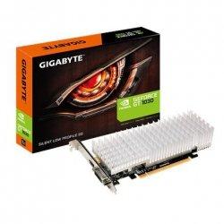 Gigabyte Low Profile NVIDIA, 2 GB, GeForce GT 1030, GDDR5, Processor frequency 1252 MHz, DVI-D ports quantity 1, HDMI ports quan