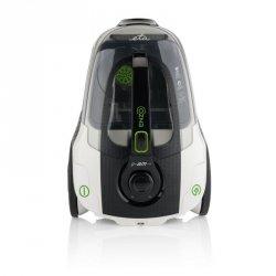 ETA Vacuum Cleaner ENZO Bagless, Black/ white, 800 W, 2.2 L, A, A, C, B, 79 dB, HEPA filtration system, 230 V