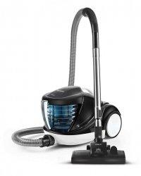 Polti Forzaspira Lecologico Aqua Allergy Natural Care Vacuum Cleaner PBEU0108 Bagless, Black/ white, 750 W, 1 L, A, HEPA filtr