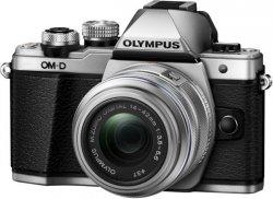 Olympus E-M10 Mark II Kit EZ-M 14-42mm Mirrorless Camera Kit, 16.1 MP, ISO 25600, Display diagonal 3 , Video recording, Wi-Fi,