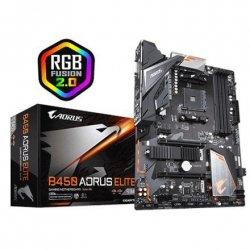 Gigabyte B450 AORUS ELITE Processor family AMD, Processor socket AM4, DDR4 DIMM, Memory slots 4, Chipset AMD B, ATX