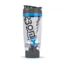 PROMiXX iX PROIXGB Protein Shaker, 600 ml, Battery powered, Grey/Blue