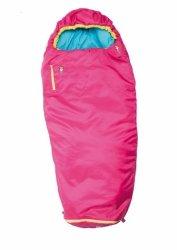 Gruezi-Bag Kids Colorful grow, Sleeping bag, 140-180x65(45) cm, Rose