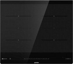 Gorenje Hob IS646BG Induction, Number of burners/cooking zones 4, Black, Display, Timer
