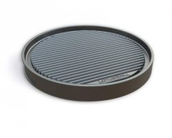 Lotusgrill Teppanyaki Grill Plate for XL size G435 TP-AL-435 Black, Diameter 35 cm
