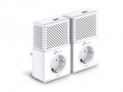 TP-LINK Powerline Adapters Kit TL-PA7010P KIT Ethernet LAN (RJ-45) ports 1x10/100/1000, Data transfer rate (max) 1000 Mbit/s, E
