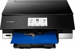 Canon PIXMA TS8350 EUR 3775C006 Colour, Inkjet, Multifunctional Printer, A4, Wi-Fi, Black