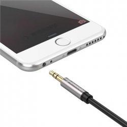 ORICO AM-M1-05-BK-BP 3.5mm M to M Aluminum Alloy Shell Audio Cable (AM-M1) Orico ORICO AM-M1-05-BK-BP 3.5mm M to M Aluminum Allo