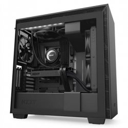 NZXT H710i Black, ATX, Power supply included No