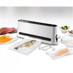 Unold Vacuum Sealer 48040 White/Black, 110 W, 5 vacuum bags 20x30 cm; 1 film roll 200x20 cm; tube 40 cm