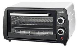 Mesko Electric oven MS 6004 12 L, Black/ grey, 1000 W