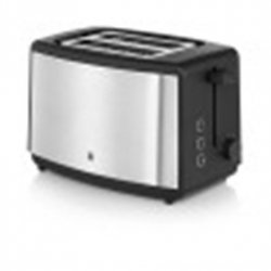 WMF BUENO Toaster WMF WMF BUENO Silver/ black, Stainless steel, 800 W, Number of slots 2, Number of power levels 7