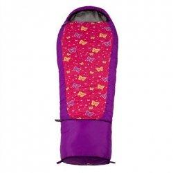 Gruezi-Bag Kids Grow Butterfly, Sleeping bag, 140-180x65(45) cm, Right side