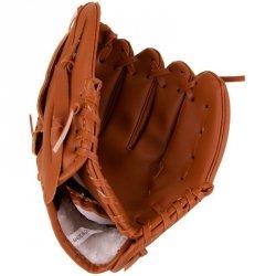 Rękawica baseball skórzana dla dzieci Best Sportning lewa