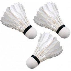 Lotka badminton z piór Enero 3szt biała