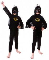 KOSTIUM BATMAN DLA 4 LATKA STRÓJ PRZEBRANIE #E1