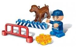 Klocki BanBao 9606 Young Ones Policjant z psem #N1