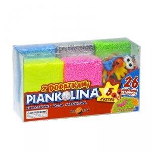 Art And Play Piankolina 5 kolorów z 26 dodatkami