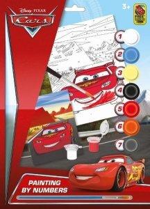 Jiri Models Cars Kolorowanka z numerkami A4
